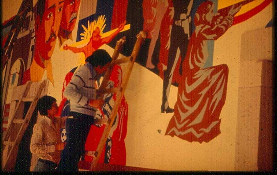 Discurso visual el muralismo despu s de siqueiros retos - El taller de pinero ...